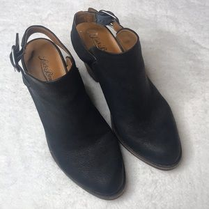 Lucky Brand Black Leather Clogs Mules 7.5